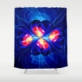 Abstract in pefection 111 Shower Curtain