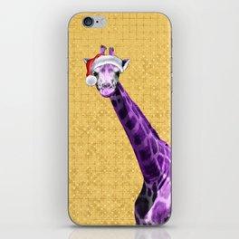 Tis The Season - Giraffe iPhone Skin