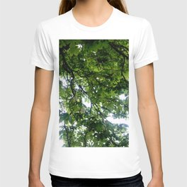 Greenery and leaf VIII T-shirt
