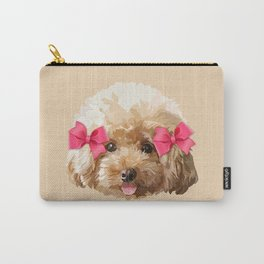 Baby Poodle Carry-All Pouch