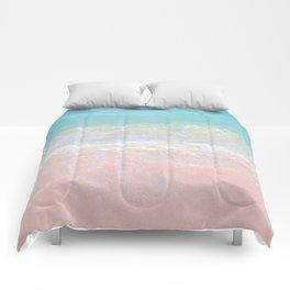 Beach shoreline   Waves Comforters