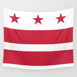 Washington D.C.: Washington D.C. Flag Wall Tapestry