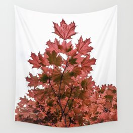 Red Maple Wall Tapestry