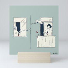 Sound in quarantine Mini Art Print