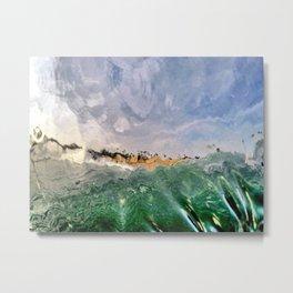 Watercolored Vibrations Metal Print