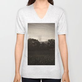 And In The Fields Unisex V-Neck