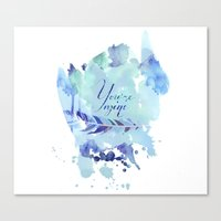 ygritte Canvas Prints featuring You're mine by Rose's Creation
