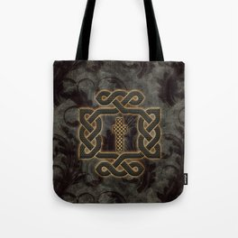 Decorative celtic knot, vintage design Tote Bag