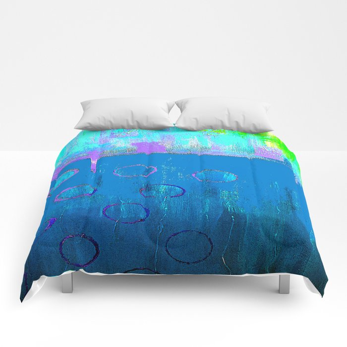 Summer Blues Comforters