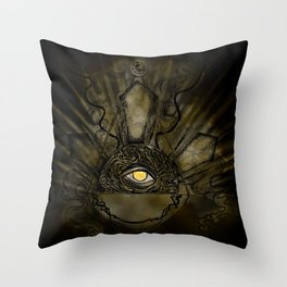 Eye of Justice Throw Pillow