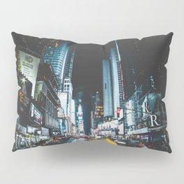 New York city night Pillow Sham
