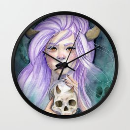 Queen Of Death Wall Clock