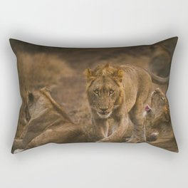 Lions Rectangular Pillow