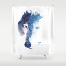 Through many storms Shower Curtain