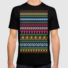 Tribality Andes Extravaganza Black Mens Fitted Tee MEDIUM