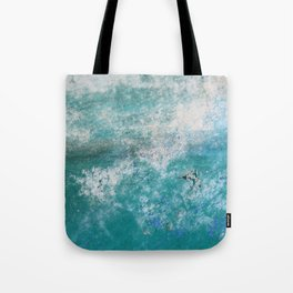 Into the Ocean - JUSTART © Tote Bag