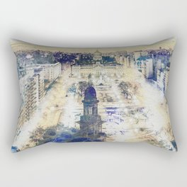 Buenos Aires watercolor Rectangular Pillow