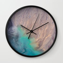 Gypsy Magic Healing Crystal Wall Clock