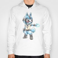 projectrocket Hoodies featuring Isn't he Ad-AURA-ble? by Randy C