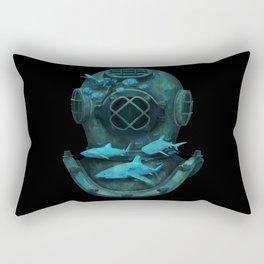 Deep Diving Rectangular Pillow