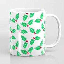Holiday Holly and Berries Coffee Mug