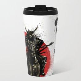 Samurai Master Metal Travel Mug