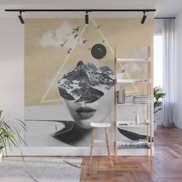 collage art / Wild Nature Wall Mural