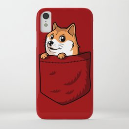 Pocket Shibe (Shiba Inu, Doge) iPhone Case