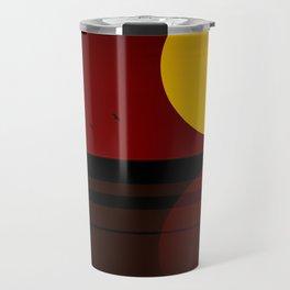 Minimal Sunset №3 Travel Mug