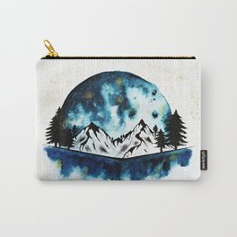 Giant Blue Moon Carry-All Pouch