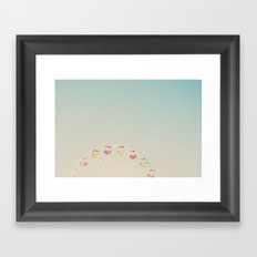 its all a blur ... Framed Art Print