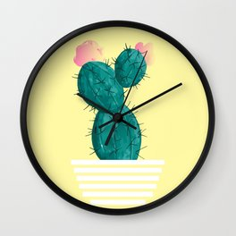 Cactus Design Wall Clock
