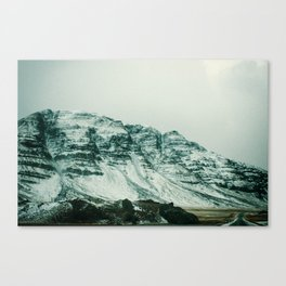 Ice Wall Canvas Print