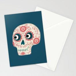 Mexican Dia de los Muertos Day of the Dead Stationery Cards