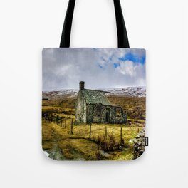 Derilict in the Yorks Dales Tote Bag