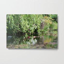 Monet's Garden 3 Metal Print