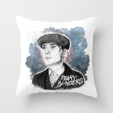 Tommy Shelby Throw Pillow