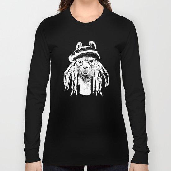 Funky Llama Long Sleeve T-shirt
