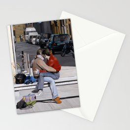 Lovers in Santa Croce Stationery Cards