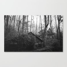 Cabins in the Woods Canvas Print