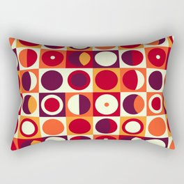 Vintage 60s geometry pattern 23 Rectangular Pillow