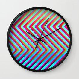 Urban OP ART Wall Clock