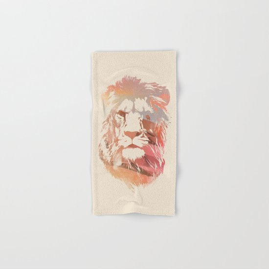 Desert Lion Hand & Bath Towel