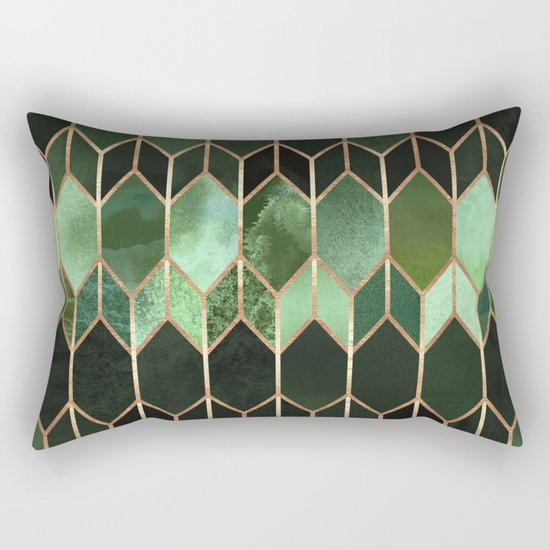 Stained Glass 5 - Forest Green by elisabethfredriksson