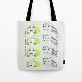 Blondie and Ginger Tote Bag