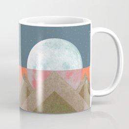 MOON BEHIND THE MOUNTAINS Coffee Mug