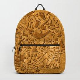 Sherlock - Gold Backpack