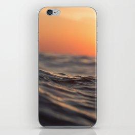 Sunset Wave iPhone Skin