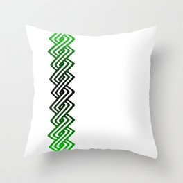 Guilloche Design Throw Pillow