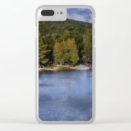 Copper Harbor, Michigan Clear iPhone Case